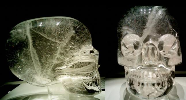Calavera de cristal 1